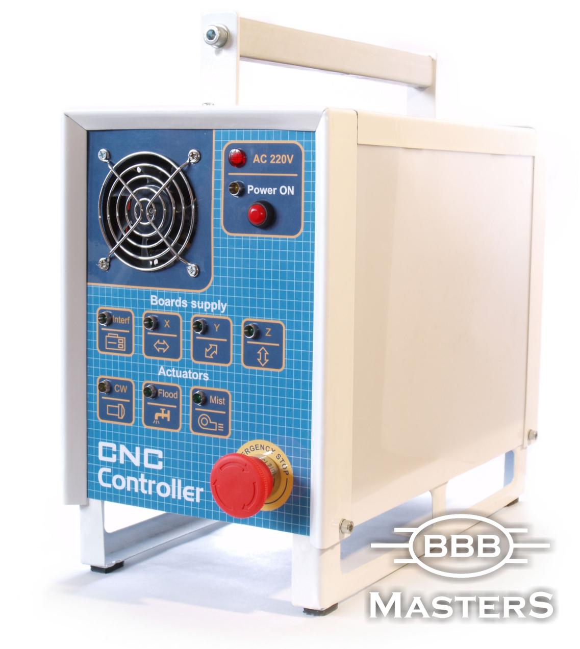 Блок управления ЧПУ (CNC Controller) .