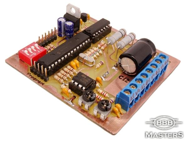 Блок контроллера шагового двигателя